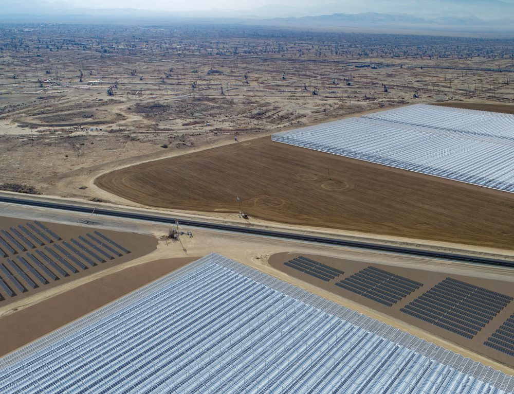 Exxon y Shell planean construir mayor termosolar en California