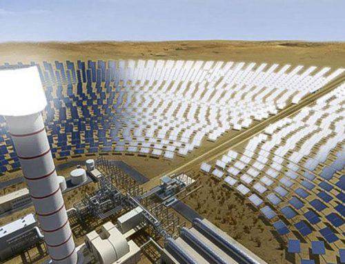 Shanghai Electric instala un receptor de sal fundida para la central de energía termosolar (CSP) de 700 MW en Dubai